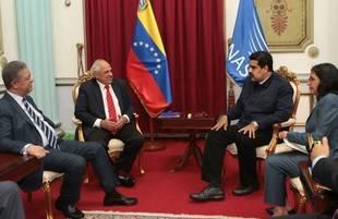 Maduro se reuni� con el secretario general de Unasur, Ernesto Samper