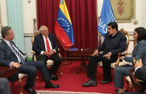 Maduro se reunió con el secretario general de Unasur, Ernesto Samper