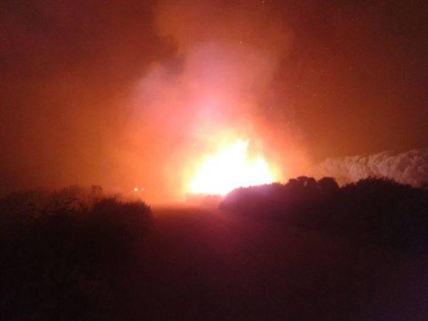Controlado el incendio forestal declarado en un paraje de San Roque