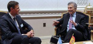 Macri y Sánchez analizaron la Cumbre del G-20