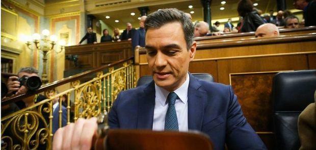 Sánchez pierde la primera votación y su investidura tendrá que esperar hasta el martes