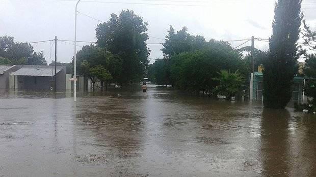 Las inundaciones provocaron cientos de evacuados al sur de la provincia de Santa Fe