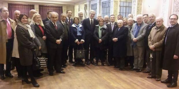 El flamante Embajador visitó las instalaciones de la Asociación Patriótica