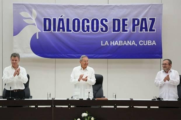 Gobierno de Colombia y Farc firman histórico acuerdo por la paz en Colombia