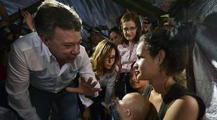 Santos visita La Guajira en plena de crisis con Venezuela