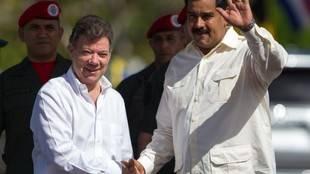 Maduro dice confianza con Colombia se estrecha como beneficio de firma de paz