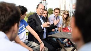 Sanz fue categórico: 'ni apelación ni intervención, elecciones transparentes ya'