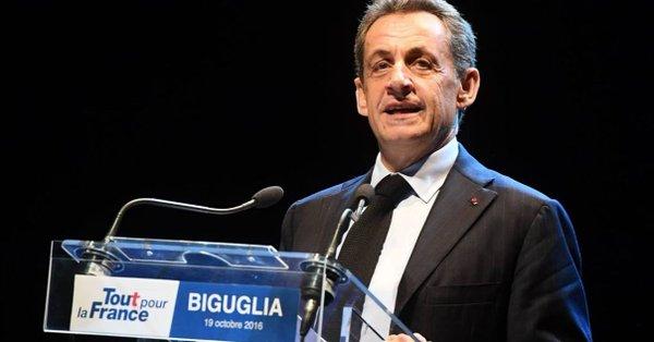 Sarkozy fue detenido por presunta financiación ilegal de su campaña electoral
