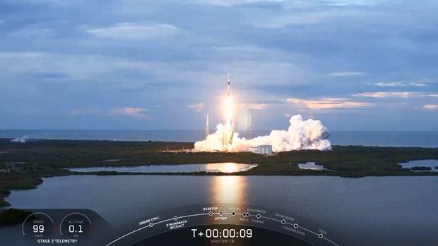 Se lanzó con éxito el satélite argentino Saocom 1B
