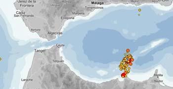 Sentido un terremoto de 2,3 grados en el Campo de Gibraltar y Málaga
