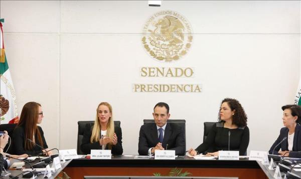 Senadores piden al gobierno mexicano pronunciarse sobre políticos presos en Venezuela