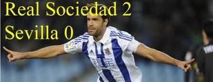 La nueva Real Sociedad de Eusebio vence a un Sevilla gris