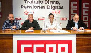 CCOO y UGT llaman de nuevo a salir a las calles con 19 actos en Castilla y León en defensa de las pensiones el 15 de abril