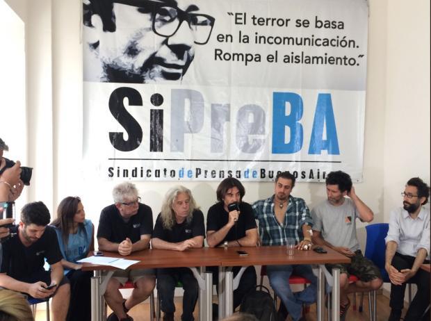 Sindicato de prensa exige la renuncia de Bullrich por los ataques a los periodistas