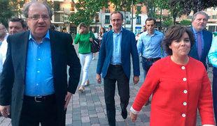 Sáenz de Santamaría valora su campaña en positivo que le permite 'no dejar agujeros' para 'integrar'