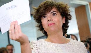 Sáenz de Santamaría abandona la política