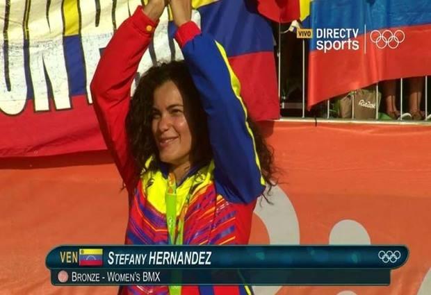Stefany Hernández le dio la tercera medalla olímpica a Venezuela en Río