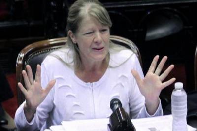 """Stolbizer afirmó que """"es terriblemente grave la denuncia contra Arribas por su cercanía con Macri"""""""