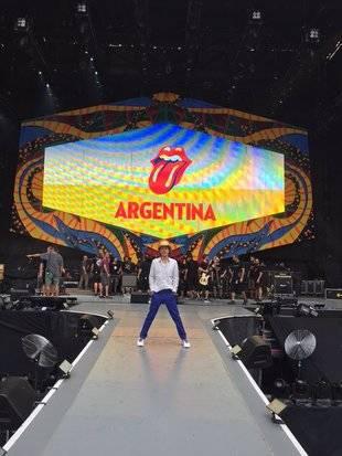 Los Rolling Stones llegaron a Buenos Aires