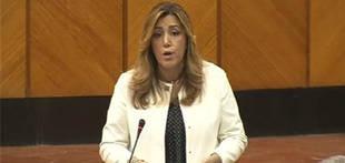Susana D�az: Andaluc�a cerr� 2015 con un d�ficit del 0,81%