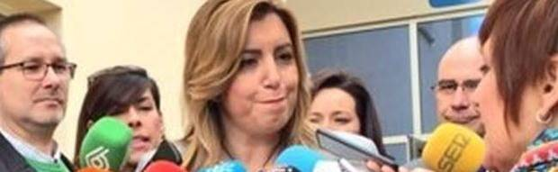 Susana Díaz: Iglesias mostró su 'faceta de artista' al 'renunciar a lo que no tiene' y pide trabajar 'con seriedad'