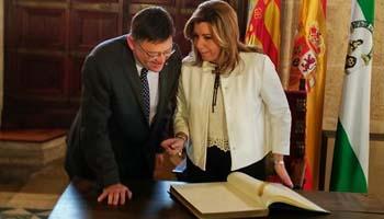 Susana D�az registra su solicitud de comparecencia en un debate general en el Parlamento andaluz