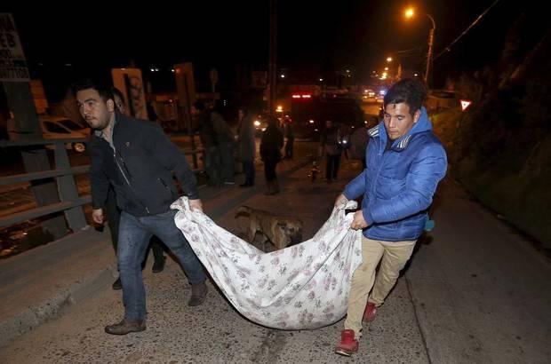 Se eleva a 8 el número de muertos por el terremoto en Chile