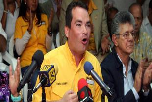 Guanipa anunció que las movilizaciones de la oposición se mantendrán