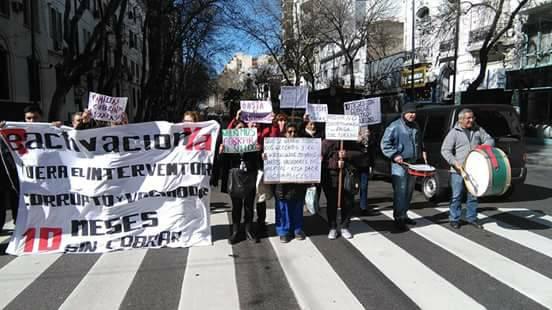 Trabajadores del Centro Gallego le solicitaron al INAES el relevo del interventor