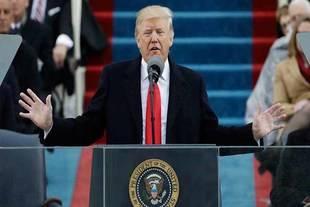 Donald Trump se juramentó como el presidente número 45 de Estados Unidos