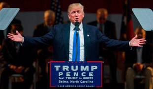 Trump advirti� que, de no ganar, Estados Unidos se convertir� en Argentina o Venezuela