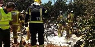Pasa a planta la mujer que sobrevivió al accidente del ultraligero en Sevilla