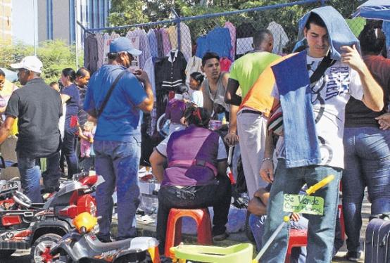 Prolifera venta de artículos de segunda mano en diciembre por crisis económica