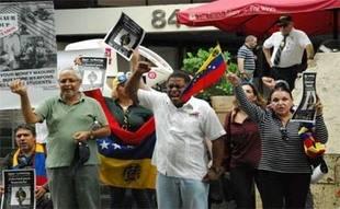 Exilio condena muerte joven manifestante por disparos de Guardia Bolivariana