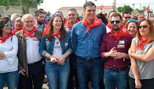 Sánchez, convencido de que el PSCyL recuperará la Junta con 'humildad y constancia' y con Tudanca al frente