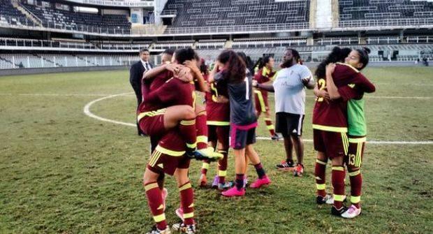 Vinotinto femenina Sub 20 clasificó al Mundial de fútbol 2016