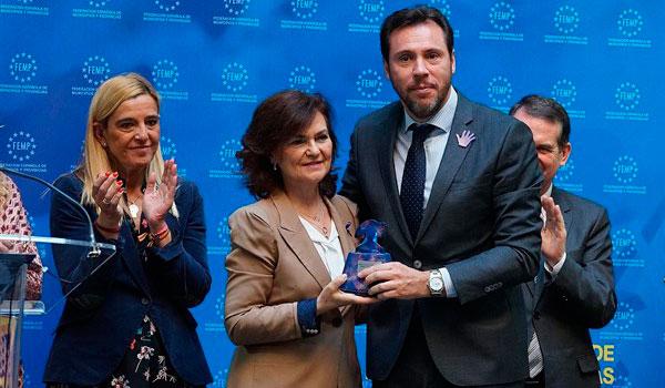 La FEMP premia al Ayuntamiento de Valladolid por su Plan de Inserción Laboral destinado a víctimas de violencia de género