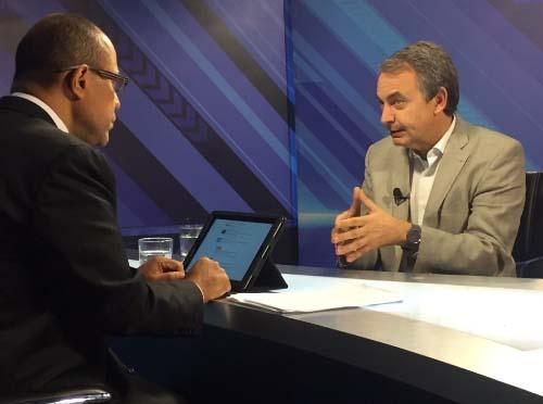 Rodríguez Zapatero: El diálogo va más allá del revocatorio