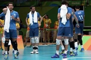 El v�ley la pele�, pero sucumbi� ante el poderoso Brasil