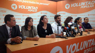 Voluntad Popular exige libertad para Gilber Caro
