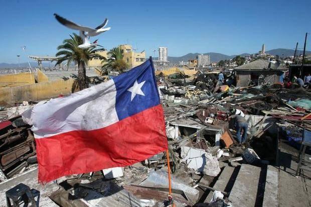 Aumenta a doce la cifra de muertos y 642 damnificados por el terremoto en Chile