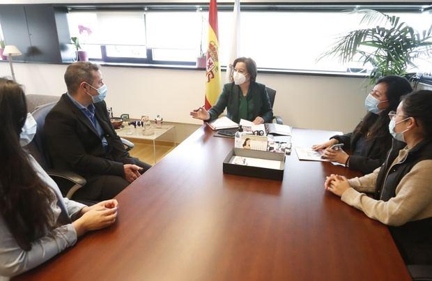La Xunta de Galicia ratifica su apoyo a las mujeres migrantes