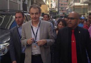 Zapatero llega por sorpresa a Venezuela en vísperas de la Toma de Caracas