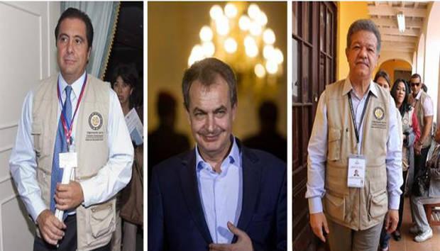 Desean expresidentes por Venezuela lleguen a resultados en tiempo razonable
